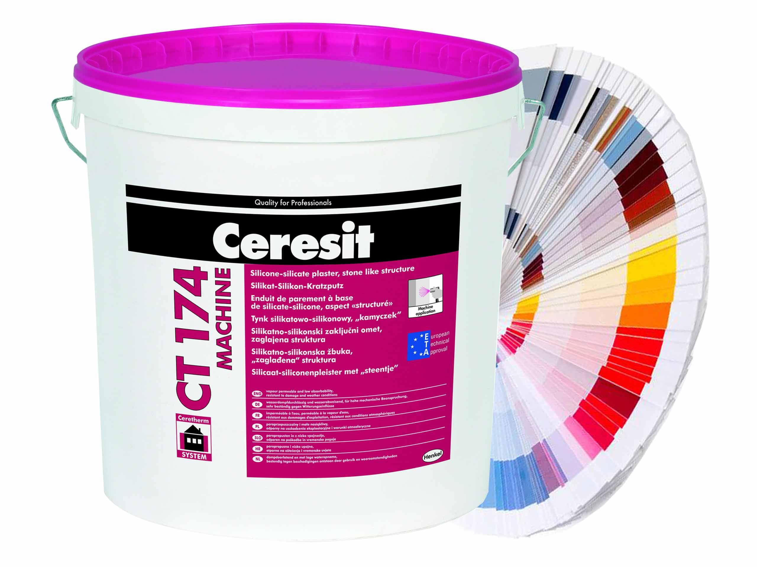 силиконовая штукатурка для фасада ceresit